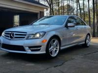 FOR SALE: 2012 Mercedes C250 Sport 21,000 miles 1