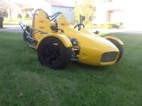I am selling a 2012 MEV TR1KE. This is a reverse trike