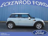 One owner and no accidents or damage. This 2012 Mini
