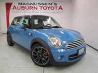 FUN TO DRIVE! LOW MILES! This 2012 Mini Cooper is