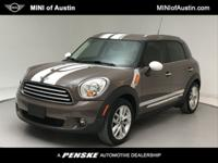 Clean CARFAX. Light Coffee 2012 MINI Cooper Countryman
