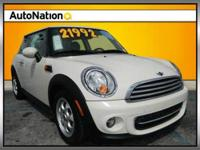 autonation certified mini cooper with one owner, rear
