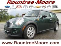 Cooper Clubman, 1.6L I4 DOHC 16V, British Racing Green