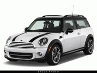 This 2012 MINI Cooper Clubman 2dr 2dr Cpe S Coupe