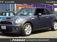 Gas miser! Only one owner! This gorgeous 2012 Mini