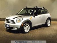 This CERTIFIED preowned 2012 MINI COOPER COUNTRYMAN