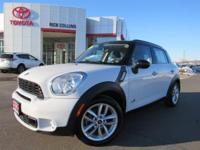 This 2012 MINI Cooper comes equipped with a 6 speed