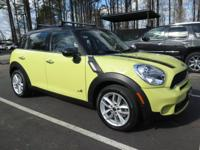 **2012 MINI COUNTRYMAN S**ALL4**6 SPEED MANUAL**LEATHER