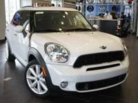 *2012 MINI Cooper Countryman S AWD* Light White over