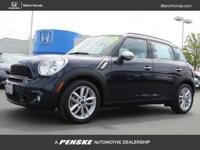 Options:  2012 Mini Cooper Countryman Fwd 4Dr S|Buy