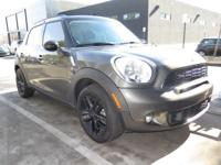 **2012 MINI COOPER S COUNTRYMAN**AUTOMATIC**LOW