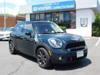 **2012 MINI COOPER 'S' COUNTRYMAN** BLUETOOTH * * MP3-