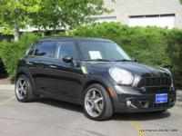 2012 Countryman S fwd utility in black with black