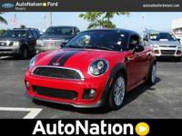 The MINI Cooper Coupe speaks volumes about it's driver|
