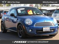 This 2012 MINI Cooper Coupe 2dr 2dr Coupe features a
