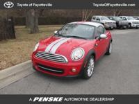 EPA 37 MPG Hwy/29 MPG City! Coupe trim. CARFAX 1-Owner,