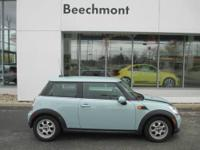 CARFAX 1-Owner, Excellent Condition. Cooper Hardtop