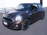 ONE OWNER!!!...COOPER S!!!...BLACK 16 INCH ALLOY