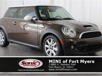 This 2012 MINI Cooper Hardtop S comes well-equipped