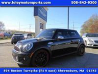 SHARP!! 2012 MINI Cooper S Hatchback... Black on Carbon