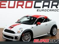 This 2012 MINI Cooper Coupe 3dr 2dr John Cooper Works
