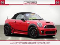Red 2012 MINI John Cooper Works FWD Getrag 6 Speed