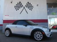 Options:  2012 Mini Cooper Roadster S 2Dr