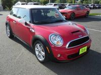 Just Arrived* This Red 2012 MINI Cooper S is powered by