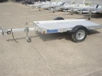 2012 Mission Trailers 4X8 In Stock Utility Trailers