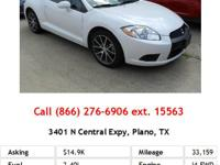 This is a nice 2012 MITSUBISHI ECLIPSE If you're ready