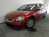 Exterior Color: red, Body: Sedan 4dr Car, Engine: 2.4L
