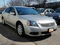 THIS 2012 MITSUBISHI GALANT IS EQUIPPED WITH ALLOY