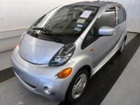 This is a totally loaded 2012 Mitsubishi I-miev. It has