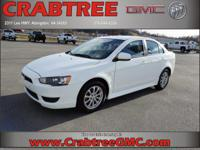 Options:  2012 Mitsubishi Lancer Es|Es 4Dr Sedan