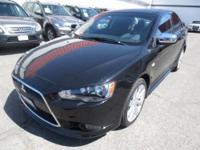 1-Owner! 2012 Mitsubishi Lancer GT! Warranty Until