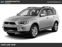 This 4X4 Mitsubishi Outlander has been nicely