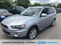Mitsubishi Outlander  CARFAX One-Owner.  **Moonroof /