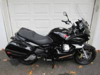 Mileage: 5,417 Make: Moto GuzziExterior Color: Black