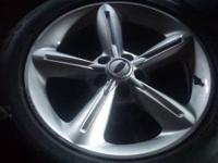 Up for sale is a set of stock 2012 Mustang GT wheels