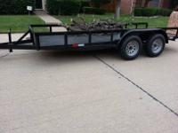 2012 NEW 16' TRAILER CHANNEL/ ANGLE FRAME W/ WRAP