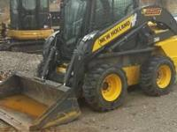 2012 New Holland L225 Skid Steer. One owner 2012 New