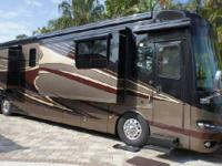 2012 Newmar Essex 4544, Custom Gas Grill in Slide-out
