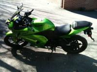 I am selling my 2012 Ninja 250R that I bought in