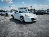 Pearl White 2012 Nissan 370Z Touring RWD 7-Speed