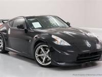 This 2012 Nissan 370Z 2dr 2dr Cpe Manual NISMO Coupe