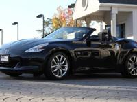 2012 Nissan 370Z Touring Convertible Magnetic Black
