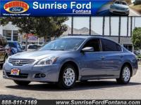 Our 2012 Nissan Altima 2.5 S Sedan is shown proudly in