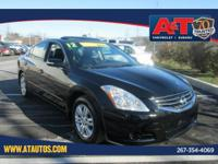 Super Black 2012 Nissan Altima 2.5 SL FWD CVT with