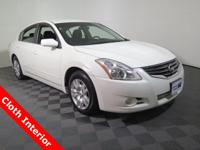 2012 Nissan Altima with a 2.5L Engine. Cloth Interior,
