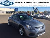 2012 Nissan Altima. Spotless. Going green starts at the